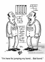 www.cartoonstock.com/cartoonview.asp?catref=ksmn3395 (BadBoysBailBondsUtah) Tags: bond bonds bailbond bailbonds bondsmen ianfleming secretagent secretagents jails gaols prisoner prisoners prisons crime crimes criminal criminals bail bondsman surety jail gaol prison convict convicts convicted cell pen penitentiary cartoon cartoons