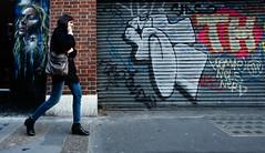 Kate Winslet - Paul Don Smith (stevedexteruk) Tags: kate winslet dean street soho london uk 2017 paul don smith graffiti art