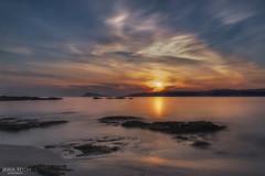 Anochece en la Ria de Muros. (jetepe72) Tags: anochece galicia larga exposicion mar sol nubes