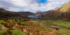 Valley of dreams... (Lee~Harris) Tags: valley landscape cymru wales water lake nature outdoors colours spring beauty love nikon dreamy magical landscapes landscapephotography hills mountainrange rugged remote vista serene tranquil scene orton