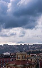 Naples (Criochi) Tags: naples napoli italy italia city citylife cityscape projectweather cloud cloudy mediterraneansea island landscape