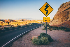 NEXT 4 MILES (Robbi_An) Tags: valleyoffire nevada usa statepark road natur wüste desert clarkcounty sony a7 35mm emount carlzeiss zeiss sonya7 fe35mm e nature sonnartfe2835 roadtrip travel traveling nationalpark
