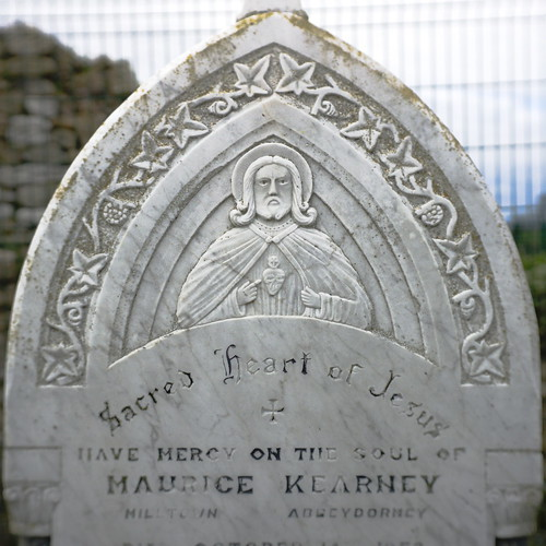 Gravestone, Kyrie Eleison Abbey, Abbeydorney