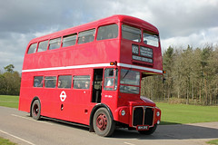 170076-804DYE-AEC Routemaster-(RM1804)-London  Transport. (day 192) Tags: detling kentshowground heritagetransportshow southeastbusfestival busrally transportrally transportshow bus buses classicbus preservedbus vintagebus aec routemaster aecroutemaster rm1804 lt londontransport 804dye