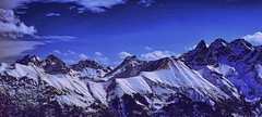 Ain't No Mountain High Enough (johmako) Tags: earth day allgäu mountain snow clouds wolken berge sky himmel alps alpen