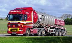 SCANIA R480 - FERGUSON Transport Corpach (scotrailm 63A) Tags: lorries trucks tankers