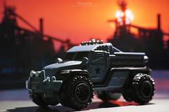 "MATCHBOX ""Road Raider"" MILITARY POLICE (koziro) Tags: matchbox road raider mattel minicar マッチボックス マテル military police"