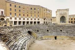 Amphitheatre -  Lecce  DSC06765_HDR.jpg (Chris Belsten) Tags: lecce romanamphitheatre