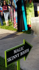 Magic Skinny Booth (amateur photography by michel) Tags: park people fall florida festivals fl fest simspark newportrichey rocktemberfest