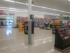 Empty Seasonal Area (Random Retail) Tags: retail store pa warren kmart 2014