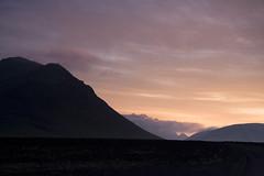 Á leið í Jökulgil (helga 105) Tags: red mountains morninng rautt fjöll morun