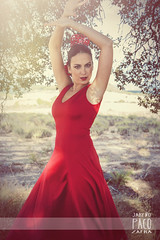 . (Paco Jareo Zafra) Tags: girls espaa beautiful beauty fashion canon spain rojo chica exterior flor tamara manos aceite typical paco baile flamenco vestido zafra sevillanas 6d tipico sevillana peineta carbonell jareo