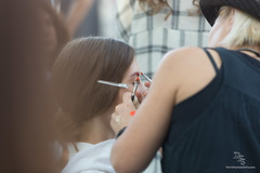 [PFW] Backstage @ CHRISTINE PHUNG S/S 2015