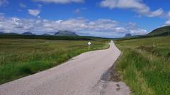 Cul Mor and Canisp (pjfchad) Tags: scotland scottishhighlands culmor a837 casnip