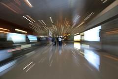 Time traveler (Rahul Gaywala) Tags: travel canon eos airport time zoom mark iii beijing 5d burst dslr 24105 zoomburst canoneos5dmarkiii 5dm3