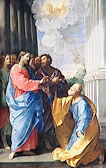 Gospel of St. John 21 01-19 delivery of care to Peter - By Amgad Ellia 05 (Amgad Ellia) Tags: st by john 21 peter delivery care gospel amgad ellia 0119