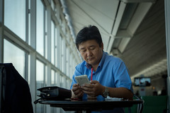 Hong Kong airport (jerome taylor) Tags: china travel asian asia chinese taiwan streetphotography photojournalism taipei journalism reportage travelphotography photojournalismphotojournalism