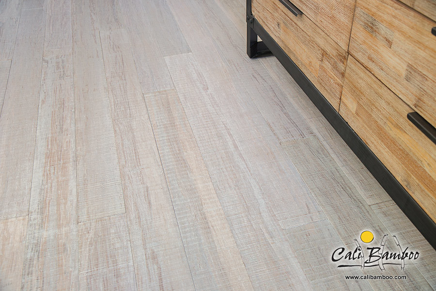 Get Free Samples! - White Wood Floors - Beachwood Fossilized® Bamboo - Cali Bamboo