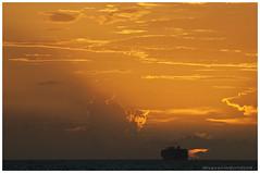 Sunset @ Mediterranean (Rhannel Alaba) Tags: sunset sunrise nikon mediterranean d90 pido alaba rhannel