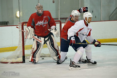 Philipp Grubauer, Tyler Lewington, and Brooks Laich (Scenes of Madness Photography) Tags: camp ice hockey arlington training photography nhl virginia washington nikon 21 september tyler national madness 31 philipp scenes 77 league brooks capitals 2014 plex kettler laich d3200 iceplex lewington grubauer