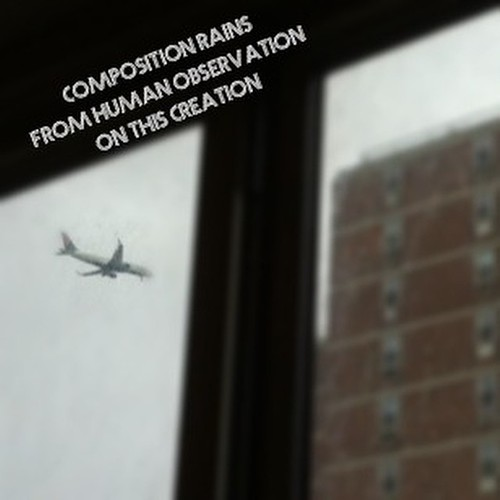 #Composition rains/ From human #observation/  On this #creation/  #haiku #jet #window #rain #laguardia #flightpath #rain