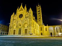 Night Duomo (Bryn B Jones) Tags: longexposure italy lumix september panasonic tuscany siena duomo 2014