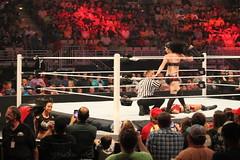 IMG_7286 (ohhsnap_me) Tags: night canon aj eos rebel la raw lafayette wrestling paige lee monday wwe divas