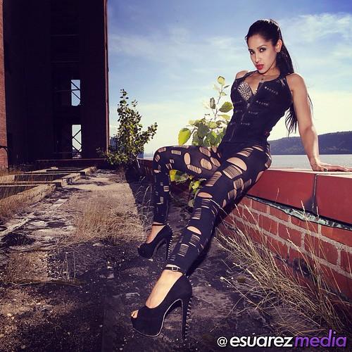 Sinisterdesignsbyeb Latina Alternative Model 420 Nyc