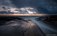 Rock (Mikko Lnnberg) Tags: longexposure sunset summer sky cloud sun seascape color rock canon suomi landscape photography lights landscapes scenery seascapes explore le pori kallo 5dmkiii mikkolo mikkolnnbergphotography 1635f4lis