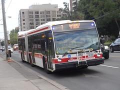 Toronto Transit Commission 9050 on 7 Bathurst (Orion V) Tags: ttc