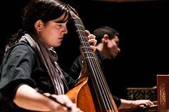 Filipa Meneses, Viola da gamba (JJ_MR) Tags: musician music holland netherlands musicians early nederland hague holanda baroque haag em msica musique conservatoire msicos conservatorium koncon
