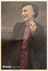 This is Birmingham 82 (Shaun Temple) Tags: haircut tattoo birmingham skins piercing 1980s cardigan docs tartan skinhead digbeth skingirl shauntemple