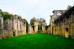 Netley Abbey Ruins, Hampshire (JackPeasePhotography) Tags: church abbey architecture nikon ruins king gothic churches arches hampshire norman henry dissolution