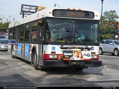 CTA 1371 (TheTransitCamera) Tags: city chicago bus public illinois cta system transportation service chicagotransitauthority d40lf newflyerindustries cta1371