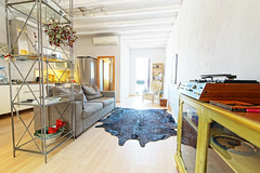 Interior photography. Flat in Barcelona (mattkayphotography) Tags: old music building rooftop kitchen fashion architecture photography cuisine flat interior decoration vinyl player appartement dcoration barcelone musique intrieur meubles terasse