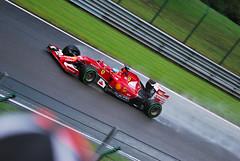 2014 FERRARI F14T FERNANDO ALONSO @ KEMMEL STRAIGHT (dale hartrick) Tags: nikon belgium sigma ferrari grandprix formula1 spa gp kemmel 2014 fernandoalonso qualifying belgiumgp spafrancorchamps nikond60 belgiangp fa14 formula1gp f14t belgiumf1