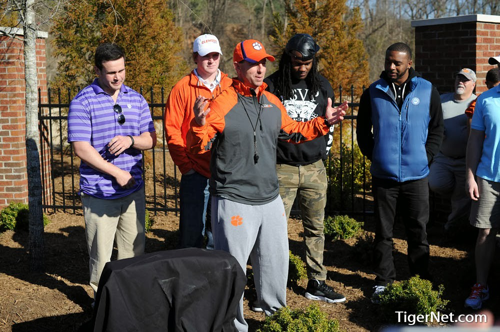 Clemson Photos: Chandler  Catanzaro, Dabo  Swinney, Phillip  Fajgenbaum, Quandon  Christian, Tajh  Boyd