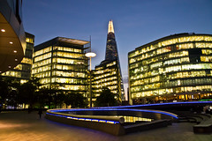 The City at Night (sophiealayna) Tags: street city uk travel windows england urban streets building london window thames architecture night canon londonbridge photography lights landscapes europe exposure raw industrial european nightscape dusk streetlights capital sophie citylife cities streetphotography scene tourist nighttime dslr riverbank shard offices attractions urbanlandscapes towerhill alayna travelguide capitalcity canonphotography shootingraw 1100d citiesofeurope sophiealaynaphotography