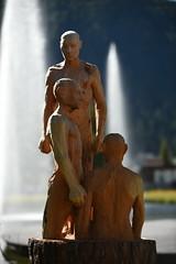 /Holzfiguren\ (swissgoldeneagle) Tags: sculpture switzerland skulptur davos d750 sculptures graubnden skulpturen graubuenden dorfseeli