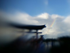 rainbow in japan (jspad) Tags: japan lensbaby epcot rainbow disneyworld android lm10 lbm10