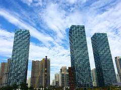 Central Park. (Kim Jin Ho) Tags: park sky cloud day central photostream incheon songdo  1    pwpartlycloudy