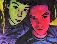 Katie and Andy Redecorate [Paradiso Posse] (Marc-Anthony Macon) Tags: art folkart outsiderart surrealism dada dadaism dadaist caffeparadiso artfaggotry artistsonflickr