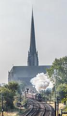 MLS14 (29) (Bonkser) Tags: church railway steam spire preston westcoastmainline 61994 thegreatmarquess