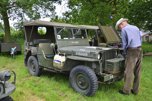 Woolpit Steam Rally, Military Vehicles, Willys MB 1944