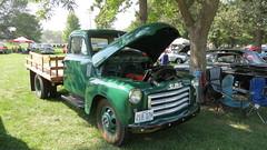 IMG_8448 (neals49) Tags: show park chevrolet car forest truck river ol ks ottawa run kansas marais gmc 250 otrg