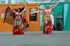 Zubaidah - Belly Dance (Tim Dennell) Tags: sheffield bellydance moor 2014 zubaidah chancetodance