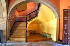 Stairway Poble Espanya-981901 (glennrossimages) Tags: barcelona spain catalonia espanya poble