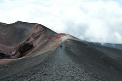 Mt. Etna (gnamooo) Tags: mountain clouds trekking trek volcano nuvole hiking sicily etna montagna sicilia vulcano