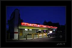 Chick Inn Curb Service (the Gallopping Geezer 3.5 million + views....) Tags: light food color sign bar night canon restaurant neon bright drink michigan pharmacy ypsilanti tavern signage geezer afterdark corel 2014