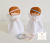 Anjinhos ♥ (Jo Matarazzo Ateliê) Tags: batizado felt feltro decoração tecido anjinhos anjinhosfeltroetecido anjinhodecoração